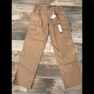 New 5.11 Tactical taclite pro pants coyote 34/34